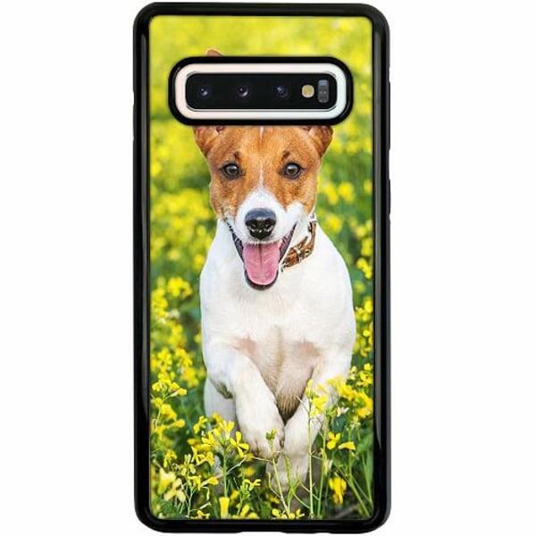 Samsung Galaxy S10 Duo Case Svart Happy Dog
