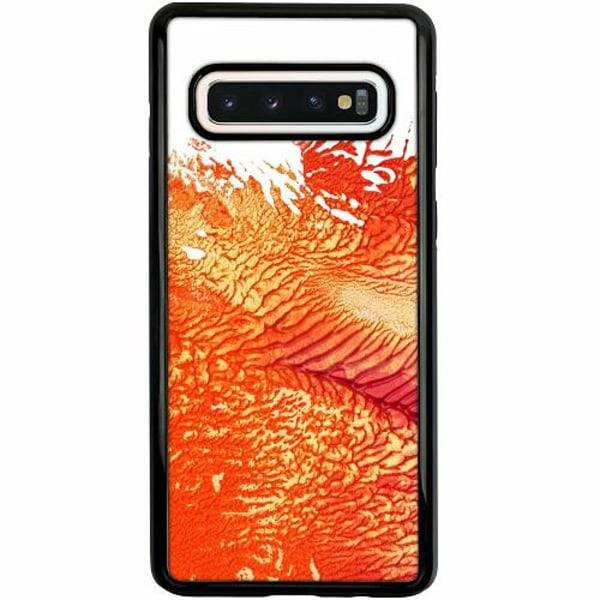 Samsung Galaxy S10 Duo Case Svart Oily Veins