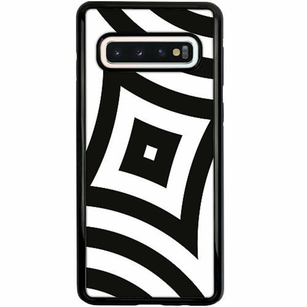 Samsung Galaxy S10 Duo Case Svart Optical