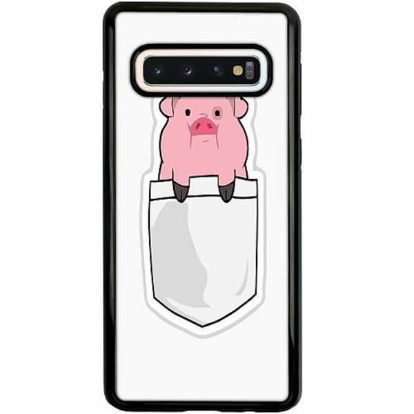 Samsung Galaxy S10 Duo Case Svart Pocket Pig