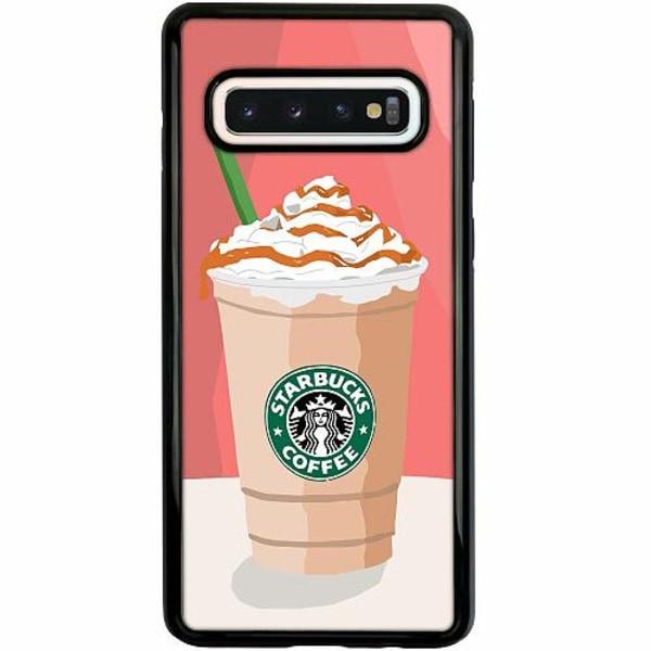 Samsung Galaxy S10 Duo Case Svart Starbucks