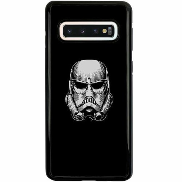 Samsung Galaxy S10 Duo Case Svart Stormtrooper