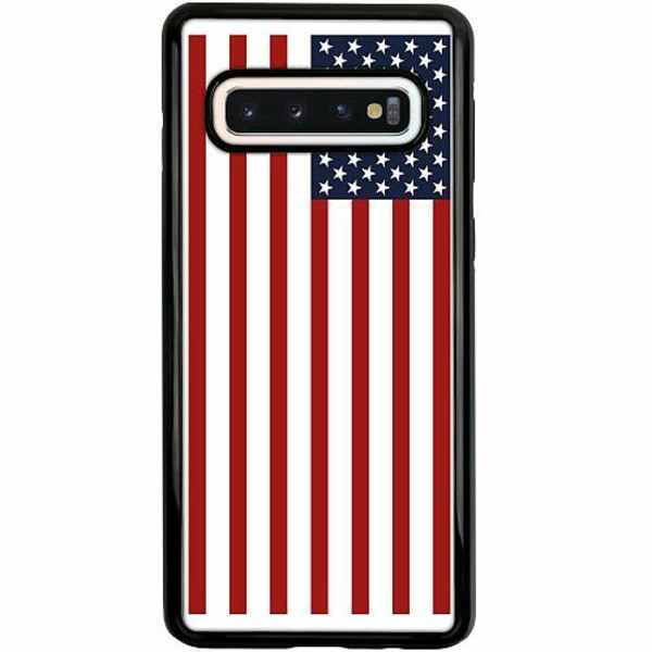 Samsung Galaxy S10 Duo Case Svart The United Americas Of States