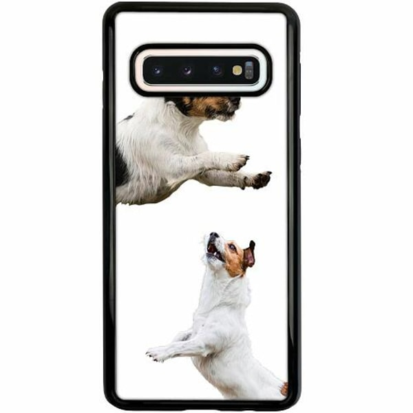 Samsung Galaxy S10 Duo Case Svart Two Jacks on a Russell