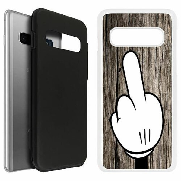 Samsung Galaxy S10 Duo Case Vit F-YOU!