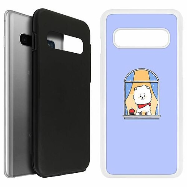Samsung Galaxy S10 Duo Case Vit Kawaii