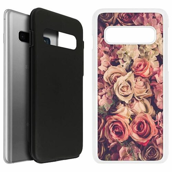 Samsung Galaxy S10 Duo Case Vit Romantic