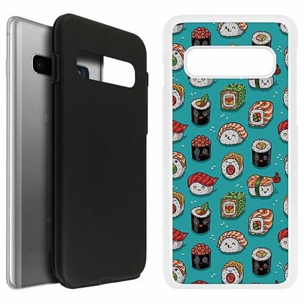 Samsung Galaxy S10 Duo Case Vit Sushi Sweeties