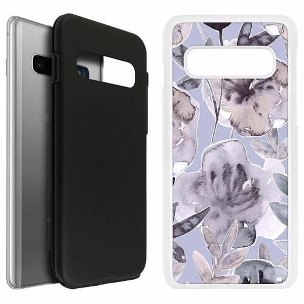 Samsung Galaxy S10 Duo Case Vit Watermark Petals