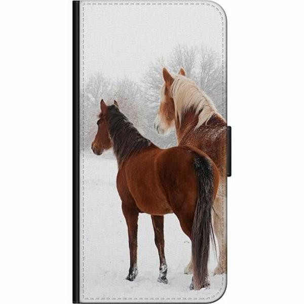 Apple iPhone XS Max Fodralväska Häst / Horse