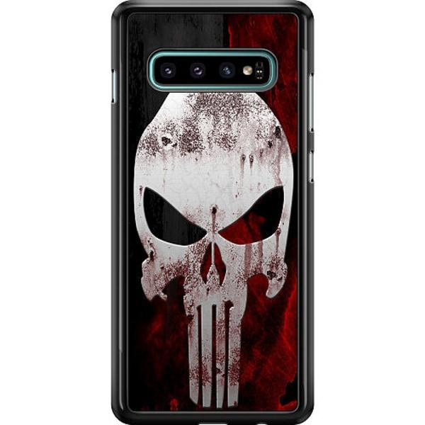 Samsung Galaxy S10 Hard Case (Black) Dödskalle