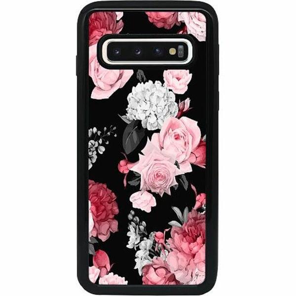 Samsung Galaxy S10 Heavy Duty 2IN1 Floral Bloom
