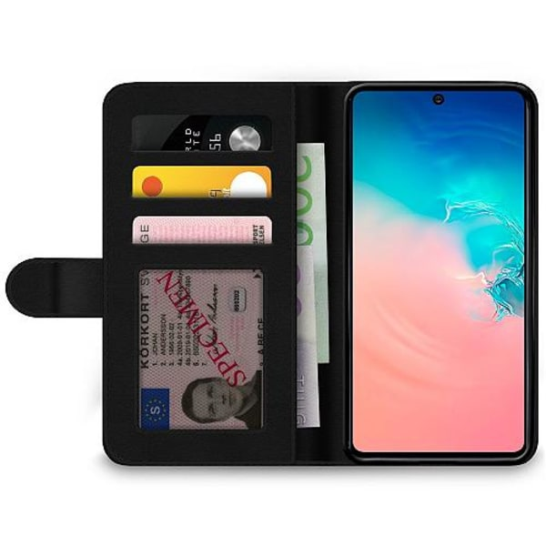 Samsung Galaxy S10 Lite (2020) Wallet Case Minecraft