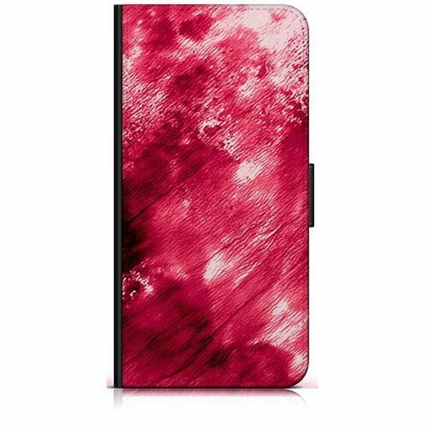 Huawei P40 Lite Plånboksfodral Fake Blood
