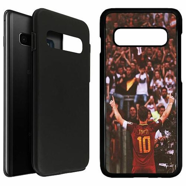 Samsung Galaxy S10 Plus Duo Case Svart Francesco Totti