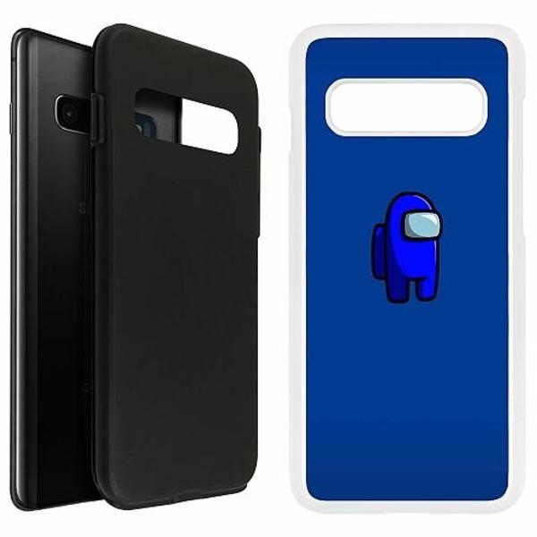 Samsung Galaxy S10 Plus Duo Case Vit Among Us