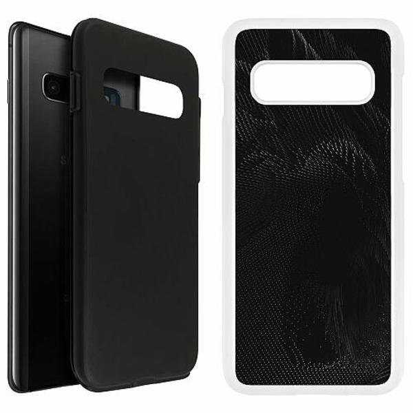 Samsung Galaxy S10 Plus Duo Case Vit Pattern