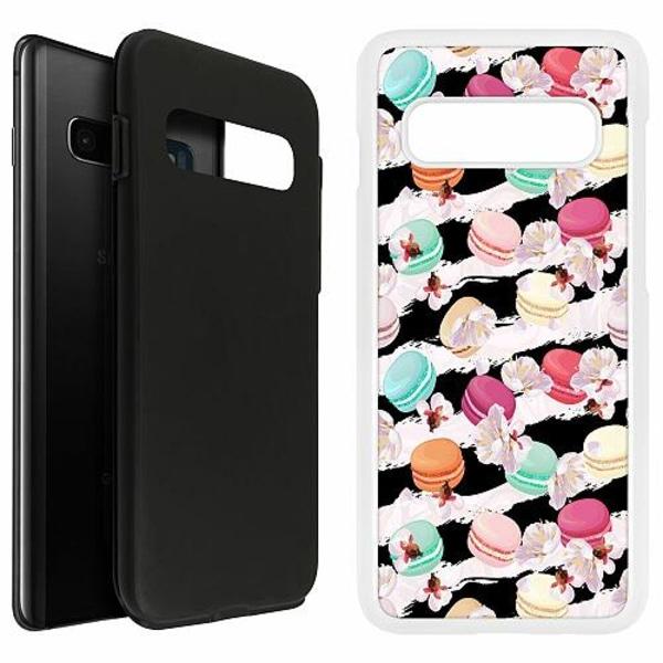 Samsung Galaxy S10 Plus Duo Case Vit U Macaron Me Crazy
