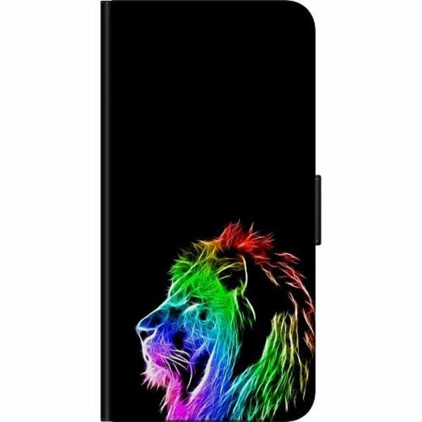 Xiaomi Mi 10 Lite Fodralväska Lion