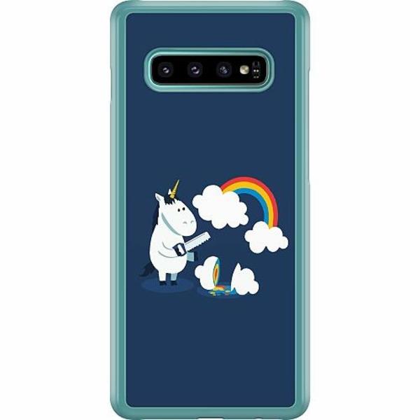 Samsung Galaxy S10 Plus Hard Case (Transparent) UNICORN