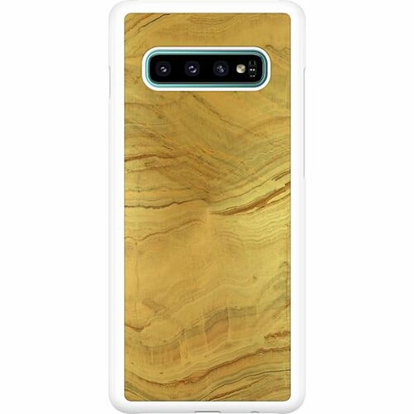 Samsung Galaxy S10 Plus Hard Case (Vit) Timeless