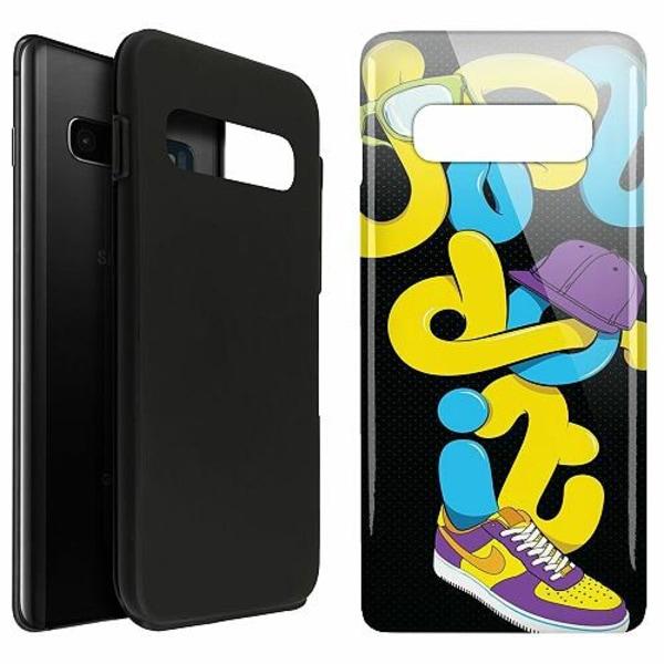 Samsung Galaxy S10 Plus LUX Duo Case (Glansig)  Nike
