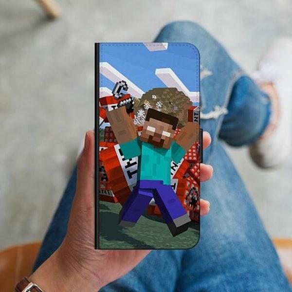 Huawei P40 Plånboksskal MineCraft