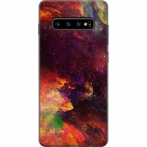 Samsung Galaxy S10 Plus Mjukt skal - Pattern