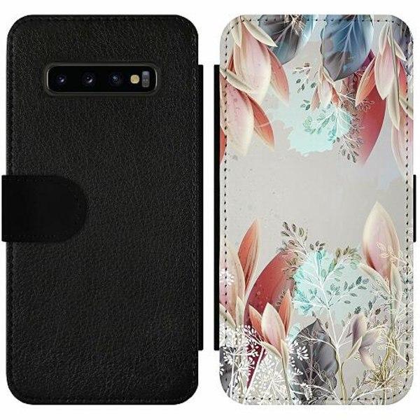Samsung Galaxy S10 Plus Wallet Slim Case Dove