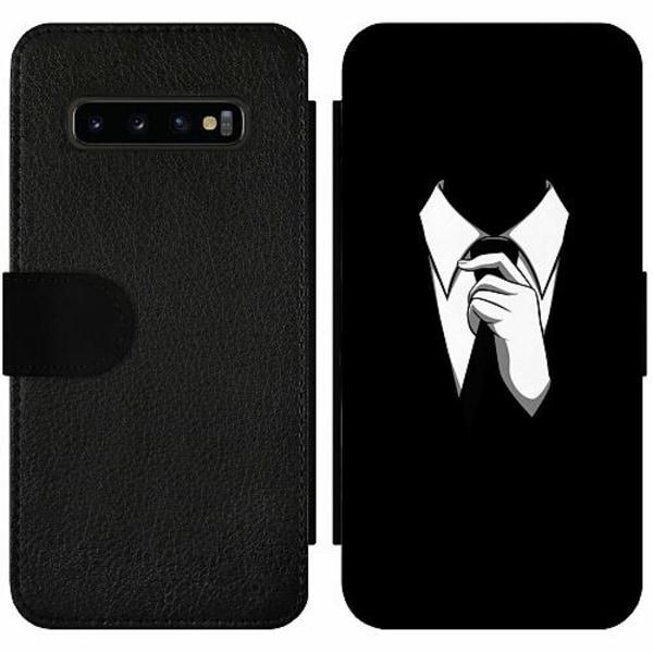 Samsung Galaxy S10 Plus Wallet Slim Case Gentleman