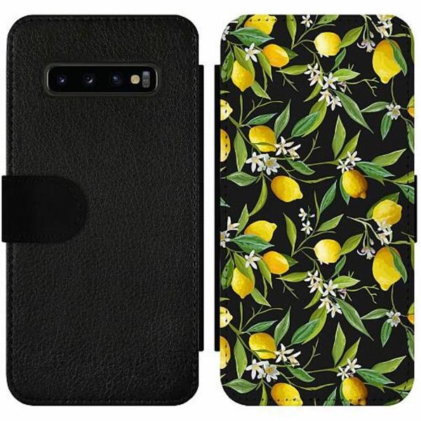 Samsung Galaxy S10 Plus Wallet Slim Case Lemonade