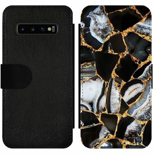 Samsung Galaxy S10 Plus Wallet Slim Case Onyx