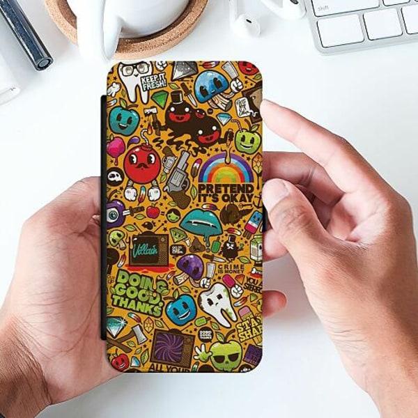 Samsung Galaxy S9 Slimmat Fodral Stickers