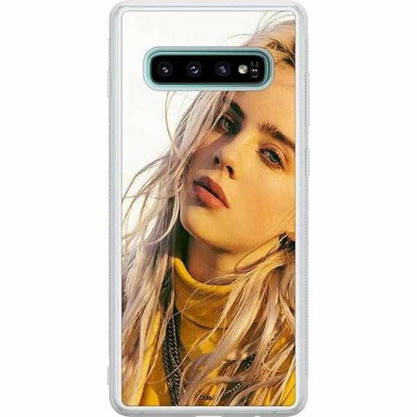 Samsung Galaxy S10 Soft Case (Frostad) Billie Eilish 2021