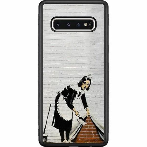 Samsung Galaxy S10 Soft Case (Svart) AR>T