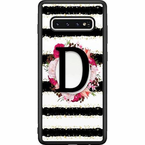 Samsung Galaxy S10 Soft Case (Svart) D