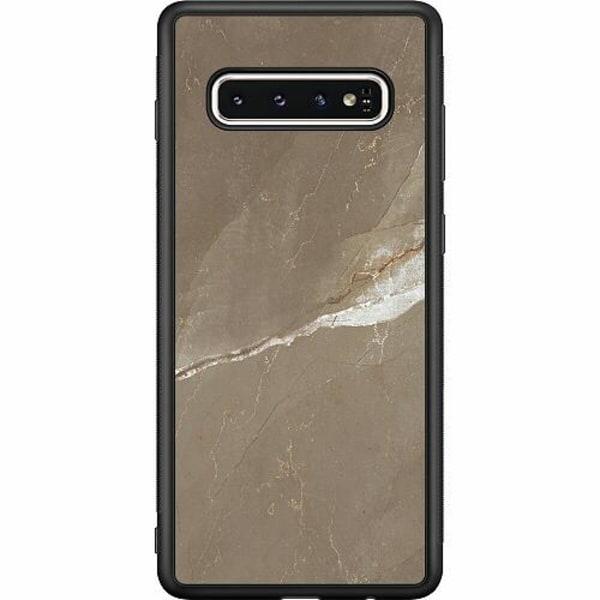 Samsung Galaxy S10 Soft Case (Svart) Density