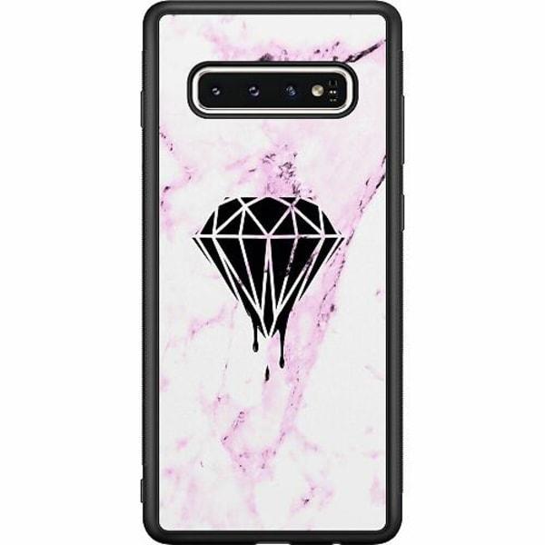 Samsung Galaxy S10 Soft Case (Svart) Diamant