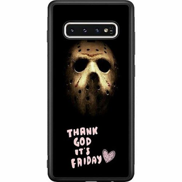 Samsung Galaxy S10 Soft Case (Svart) Friday