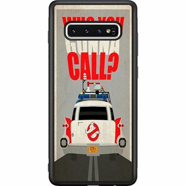 Samsung Galaxy S10 Soft Case (Svart) Ghostbusters