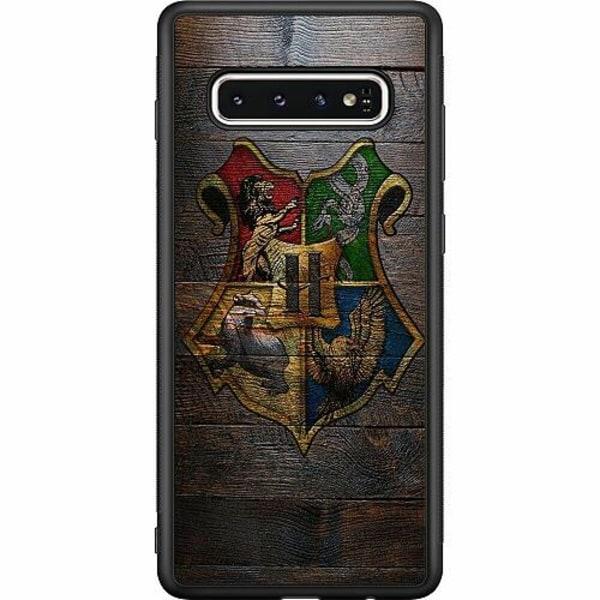 Samsung Galaxy S10 Soft Case (Svart) Harry Potter