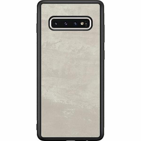 Samsung Galaxy S10 Soft Case (Svart) Icy Scapes