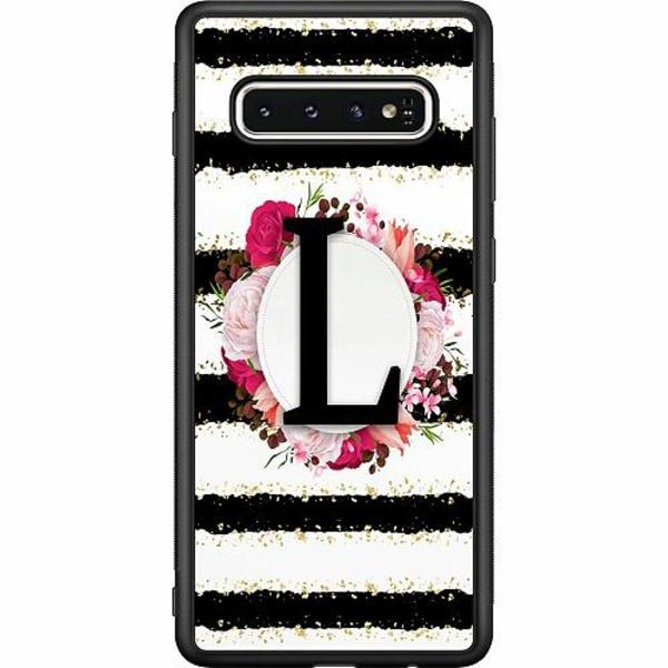 Samsung Galaxy S10 Soft Case (Svart) L