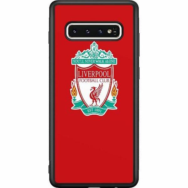 Samsung Galaxy S10 Soft Case (Svart) Liverpool