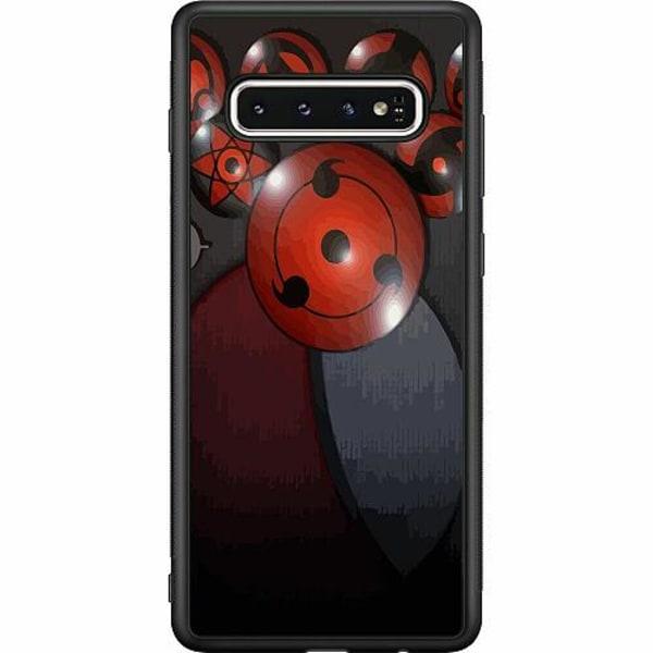 Samsung Galaxy S10 Soft Case (Svart) Naruto