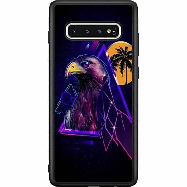 Samsung Galaxy S10 Soft Case (Svart) Örn
