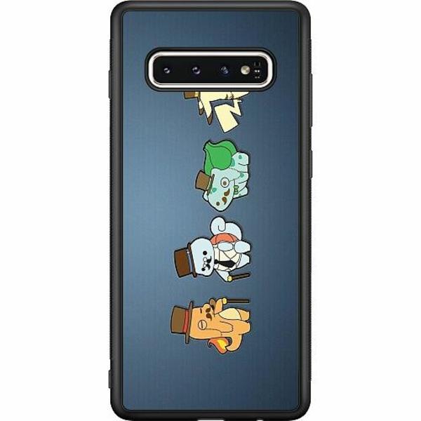 Samsung Galaxy S10 Soft Case (Svart) Pokemon