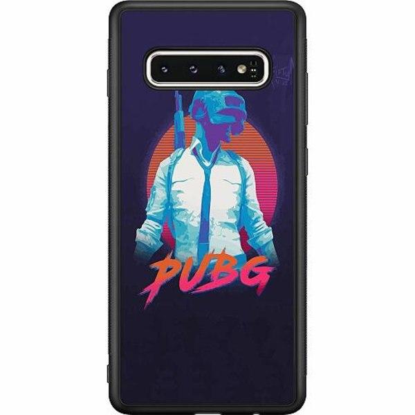 Samsung Galaxy S10 Soft Case (Svart) PUBG
