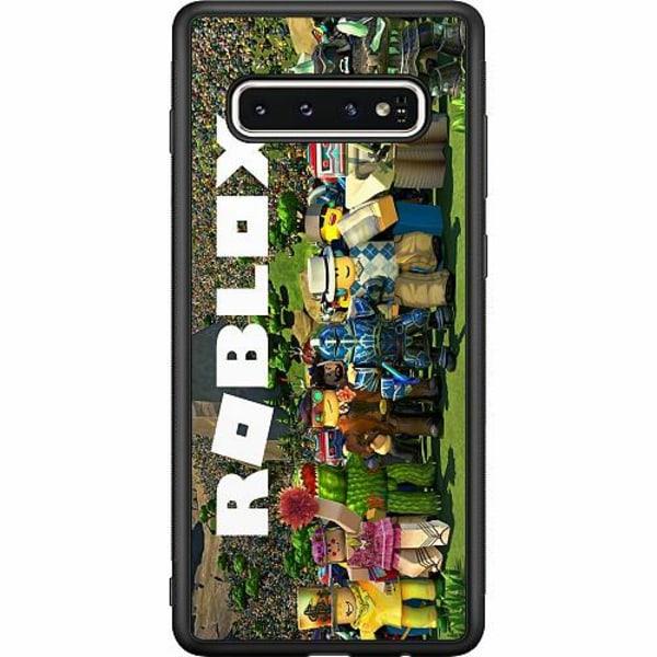 Samsung Galaxy S10 Soft Case (Svart) Roblox
