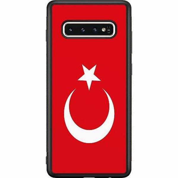 Samsung Galaxy S10 Soft Case (Svart) Turkiet
